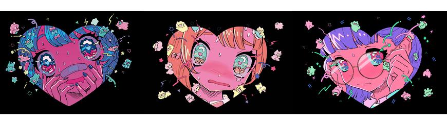 西川ニカ Cony Online Shop サブカルイラストアートなど個性派