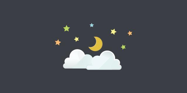 月と星と夜空のTwitterシェア企画展