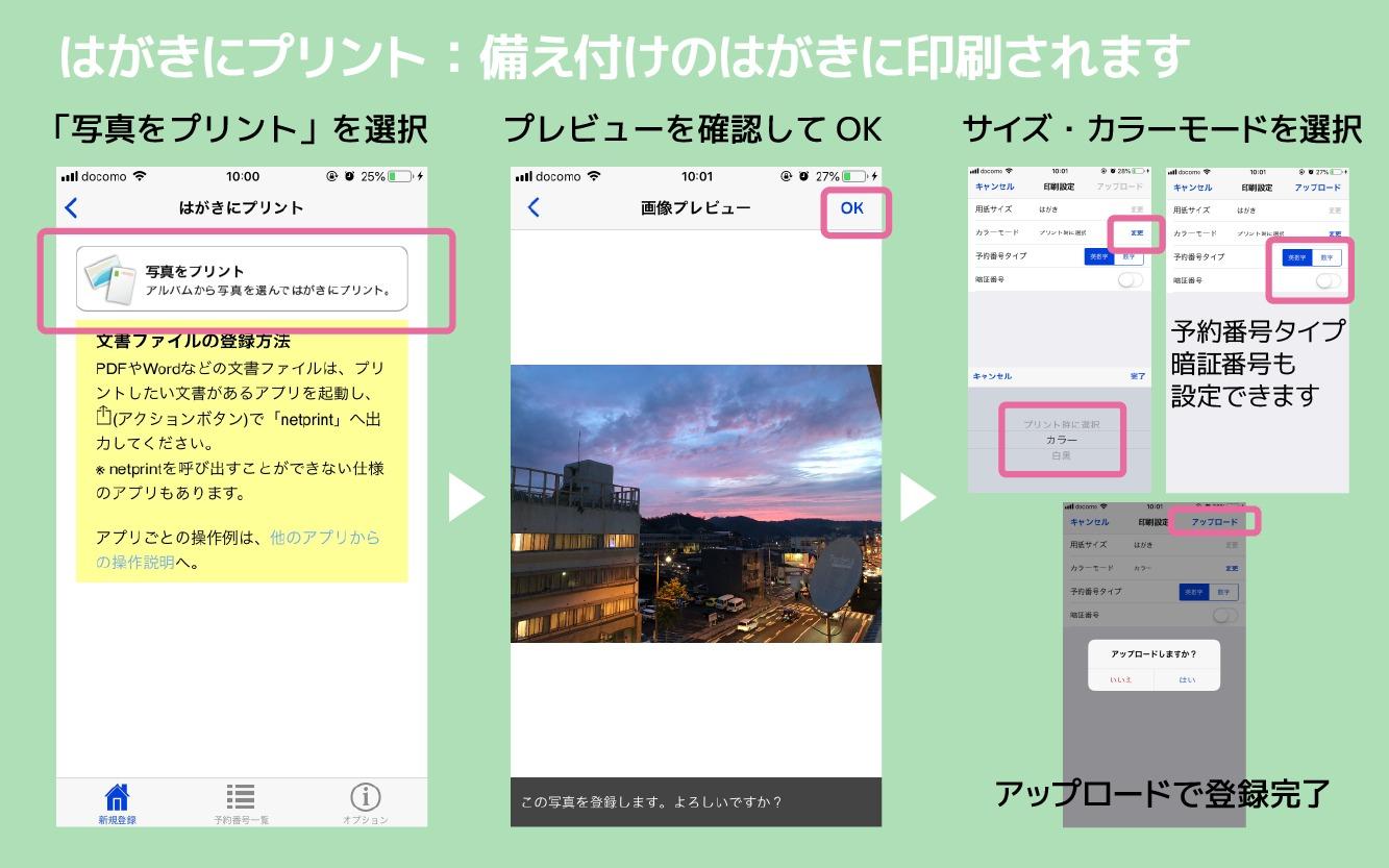 netprintアプリ4