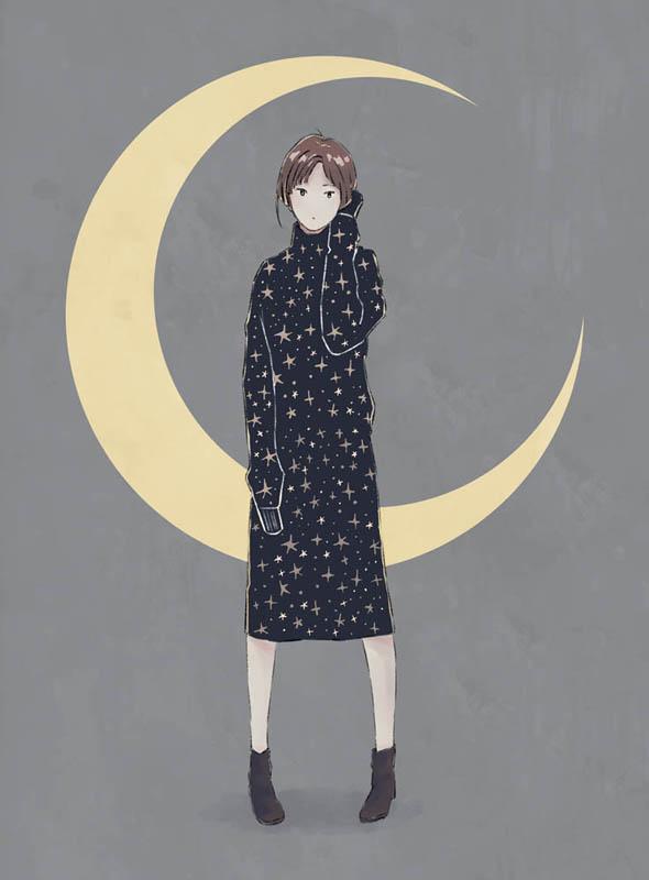 月と星と夜空5