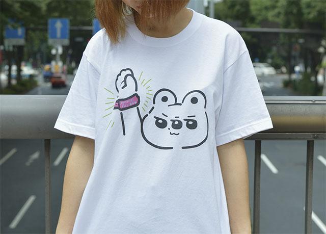 くまめTシャツ